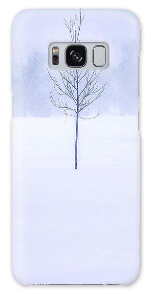 Alone In The Snow Galaxy Case