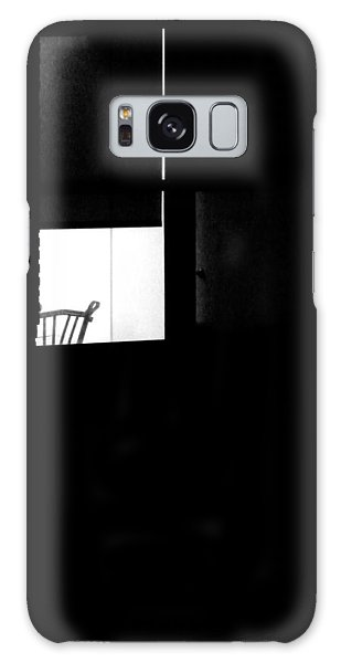 Alone Galaxy Case by Newel Hunter