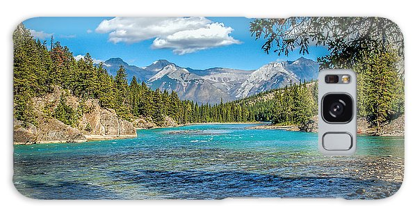 Along The Bow River Galaxy Case by Bob and Nancy Kendrick