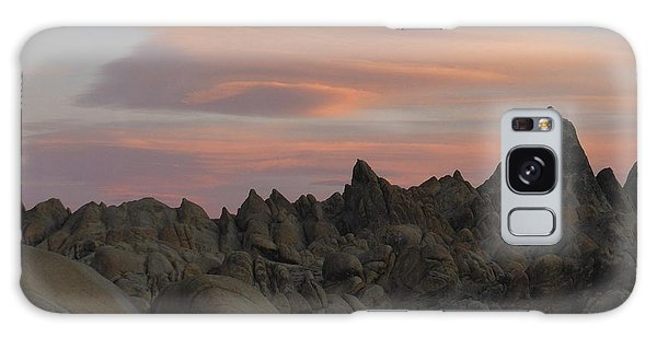 Alpenglow And Boulders Galaxy Case