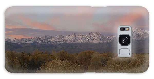 Alpenglow Owens Valley Galaxy Case