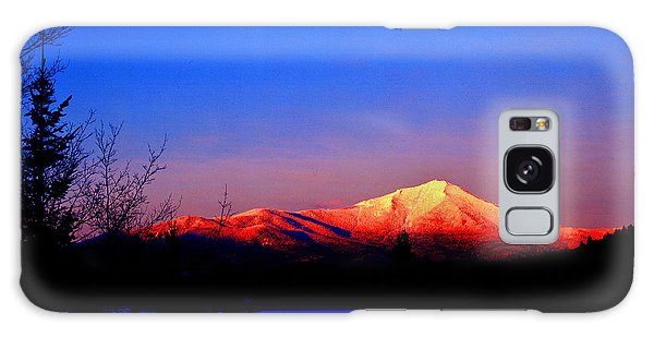 Alpenglow-whiteface Mt. Galaxy Case