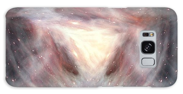 Alpha And Omega Galaxy Case by Bill Stephens