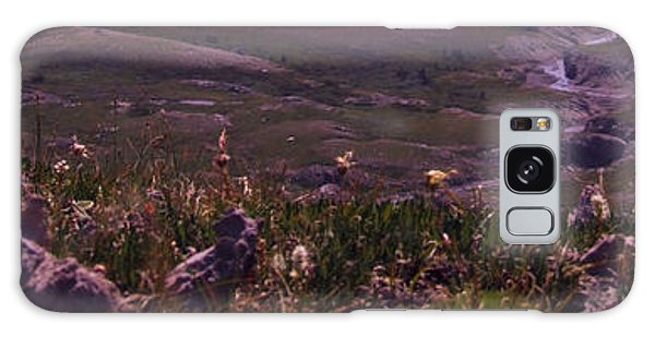 Alpine Floral Meadow Galaxy Case