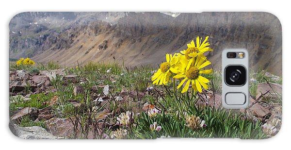 Alpine Flowers Galaxy Case