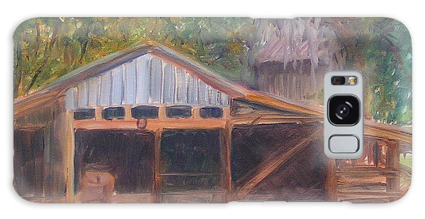 Alpine Groves Fruit Packing Shed Galaxy Case