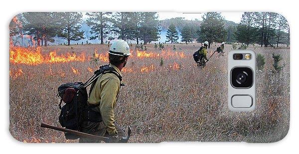 Alpine Hotshots Ignite Norbeck Prescribed Fire Galaxy Case