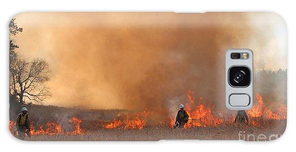 Alpine Hotshots Ignite The Norbeck Prescribed Fire. Galaxy Case
