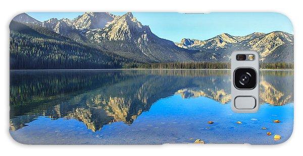 Haybale Galaxy Case - Alpine Lake Reflections by Robert Bales