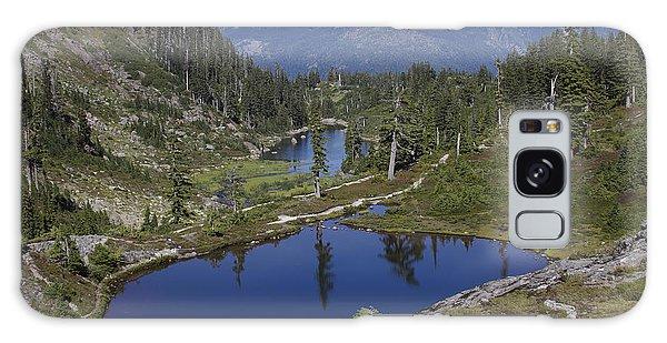 Alpine Lakes Galaxy Case by Elvira Butler