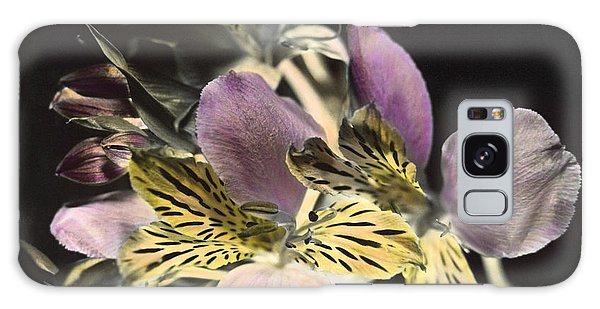 Alstroemeria Galaxy Case by Lana Enderle