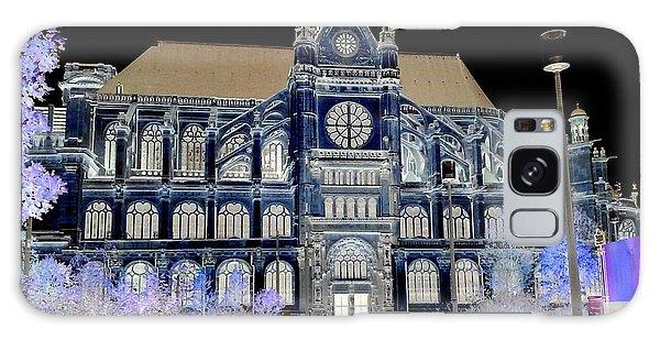 Altered Image Of Saint Eustache In Paris France Galaxy Case by Richard Rosenshein