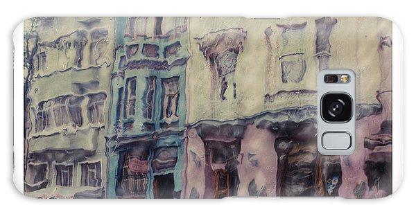 Altered Polaroid - Kybele Hotel 1 Galaxy Case by Wally Hampton