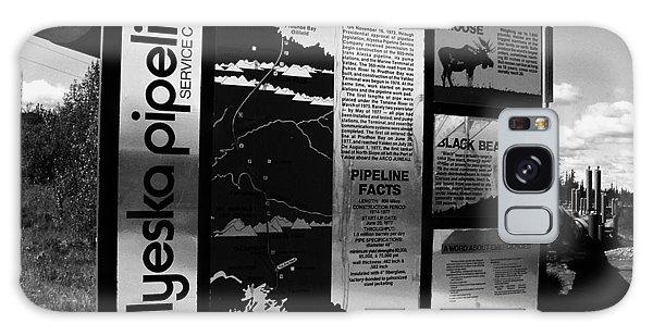 Alyeska Pipeline Galaxy Case by Juergen Weiss