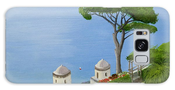 Amalfi Coast From Ravello Galaxy Case by Mike Robles