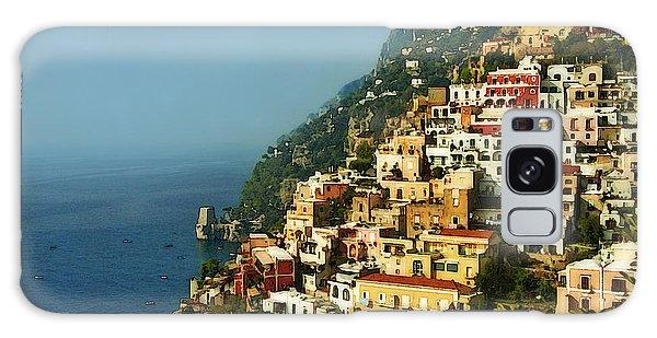 Amalfi Coast Hillside II Galaxy Case by Steven Sparks