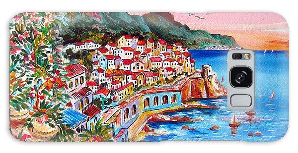 Amalfi Coast Galaxy Case