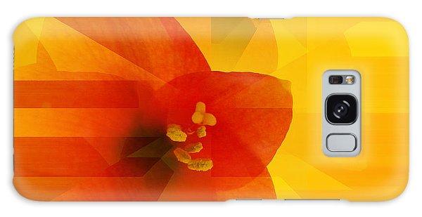 Amaryllis Galaxy Case by Barbara Moignard
