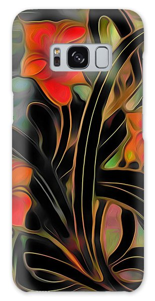 Amaryllis Galaxy Case - Amaryllis by  Fli Art