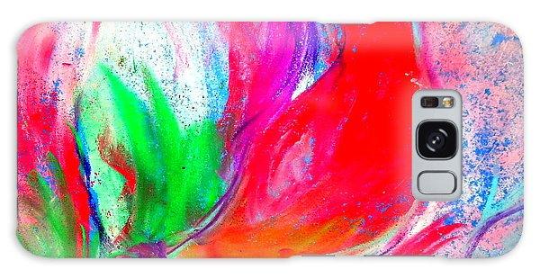 Amaryllis Galaxy Case - Funky Amaryllis Lily by Sue Jacobi