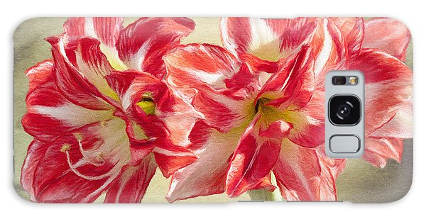 Amaryllis Galaxy Case - Amaryllis Red by Jeffrey Kolker