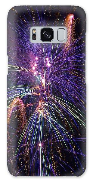 Fireworks Galaxy Case - Amazing Beautiful Fireworks by Garry Gay