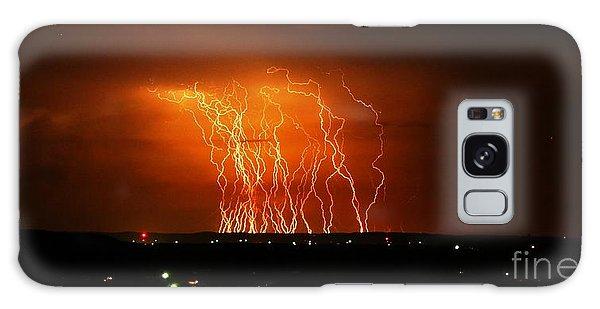 Amazing Lightning Cluster Galaxy Case