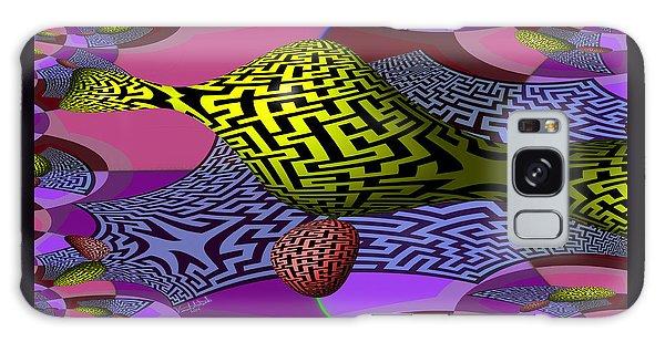 Mandelbrot Maze Galaxy Case