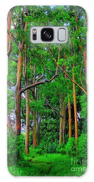 Amazing Rainbow Eucalyptus Galaxy Case by DJ Florek