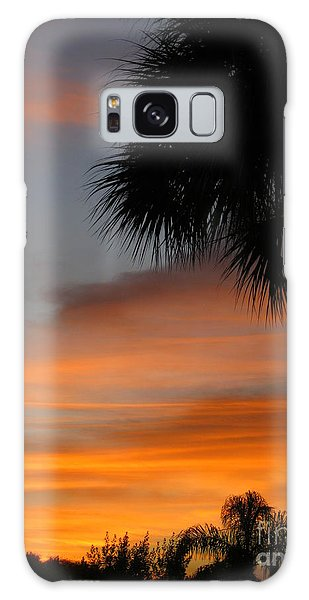 Amazing Sunrise In Florida Galaxy Case by Oksana Semenchenko