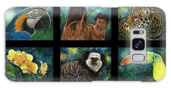 Amazon Series Collage Galaxy Case by Sandra LaFaut