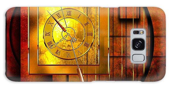 Milky Way Galaxy Case - Amber Clock by Franziskus Pfleghart