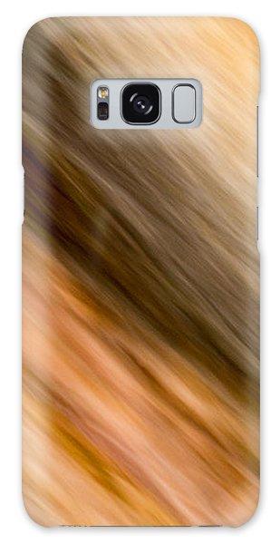 Amber Diagonal Galaxy Case by Darryl Dalton
