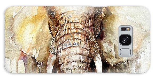 Amber Elephant Galaxy Case
