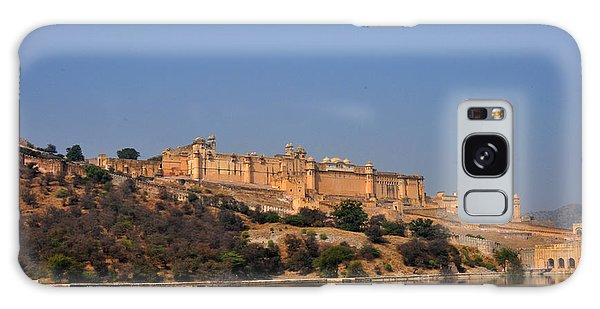 Amber Fort Jaipur Rajasthan India Galaxy Case by Diane Lent