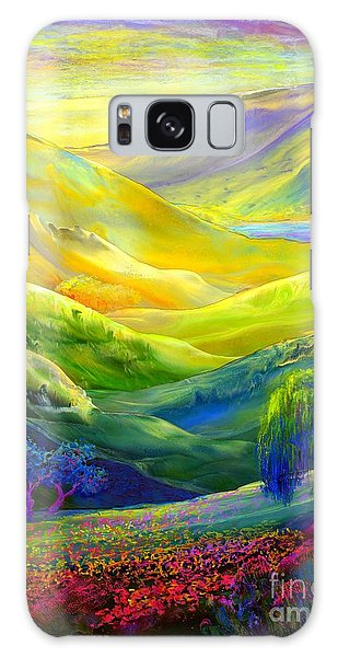 Wildflower Meadows, Amber Skies Galaxy S8 Case