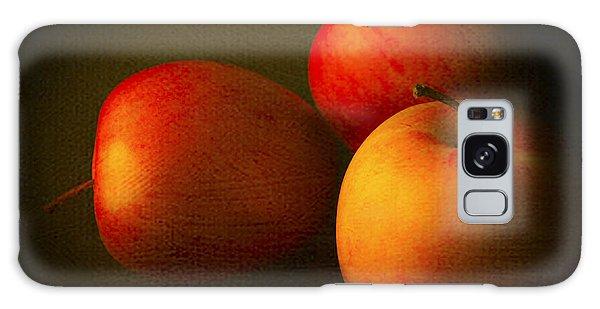 Ambrosia Apples Galaxy Case by Theresa Tahara