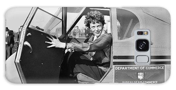 Airplanes Galaxy Case - Amelia Earhart - 1936 by Daniel Hagerman
