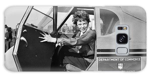 Amelia Earhart - 1936 Galaxy Case by Daniel Hagerman