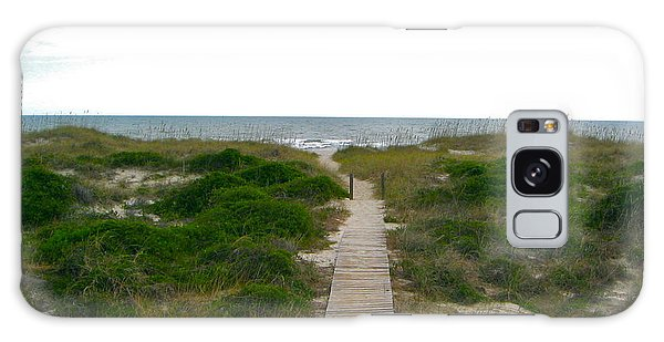 Amelia Island Beach Galaxy Case