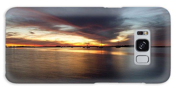 Amelia Island Sunset Galaxy Case