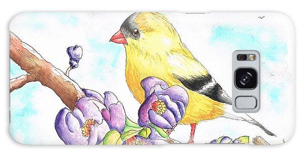 America  Goldfinch Galaxy Case