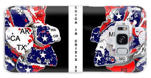 Us Civil War Galaxy Case - America In Crisis 2012 by Bruce Iorio