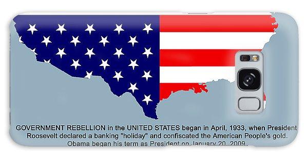 Us Civil War Galaxy Case - America In Distress by Bruce Iorio