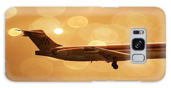 American Airlines Md80  Galaxy Case by Aaron Berg