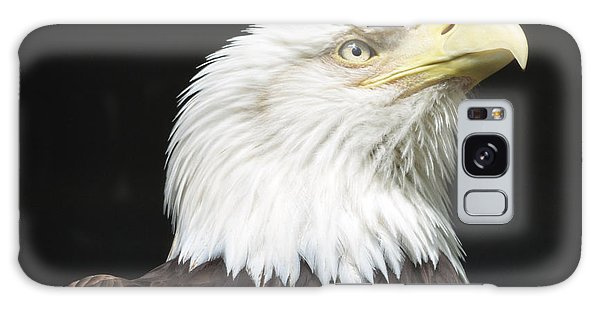 American Bald Eagle Profile Galaxy Case by Richard Bryce and Family