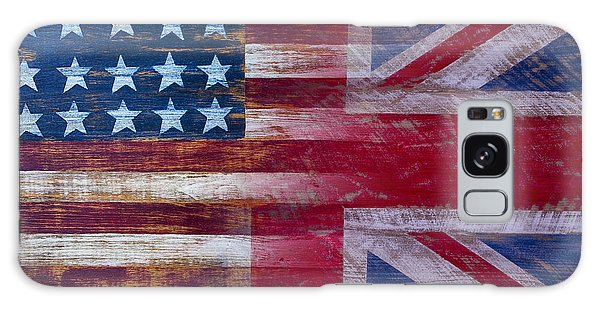 American British Flag Galaxy Case