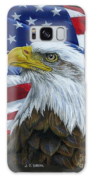 American Eagle Galaxy Case by Sarah Batalka