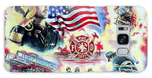 American Firefighters Galaxy Case