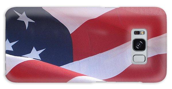 American Flag   Galaxy Case by Chrisann Ellis